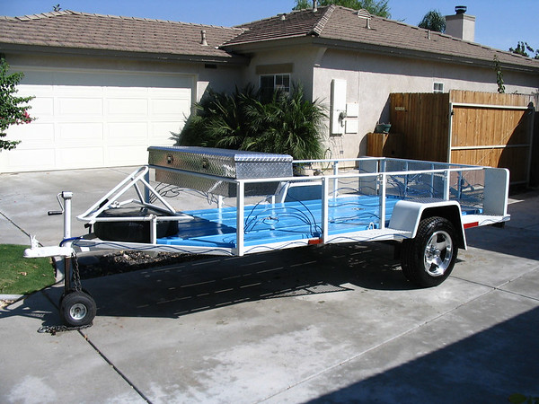 toyanvil s utility trailer rebuild adventure rider